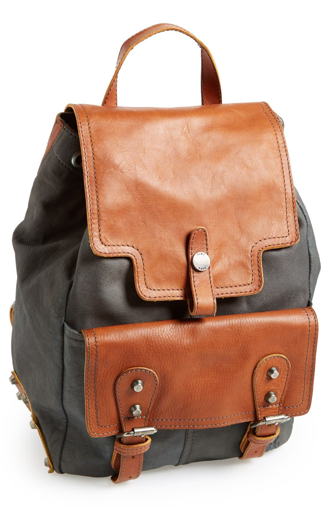 Alternate Image 1 Selected - Frye 'Tracy' Leather Backpack