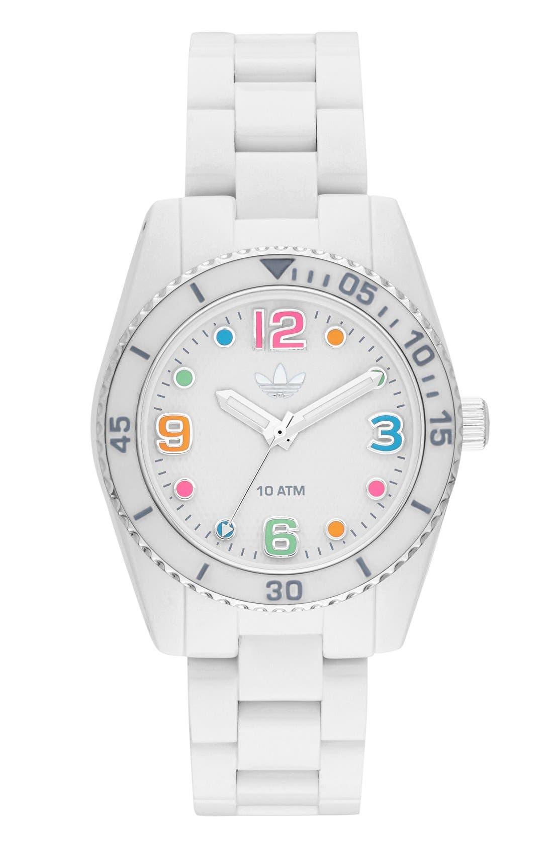Alternate Image 1 Selected - adidas Originals 'Brisbane' Bracelet Watch, 34mm