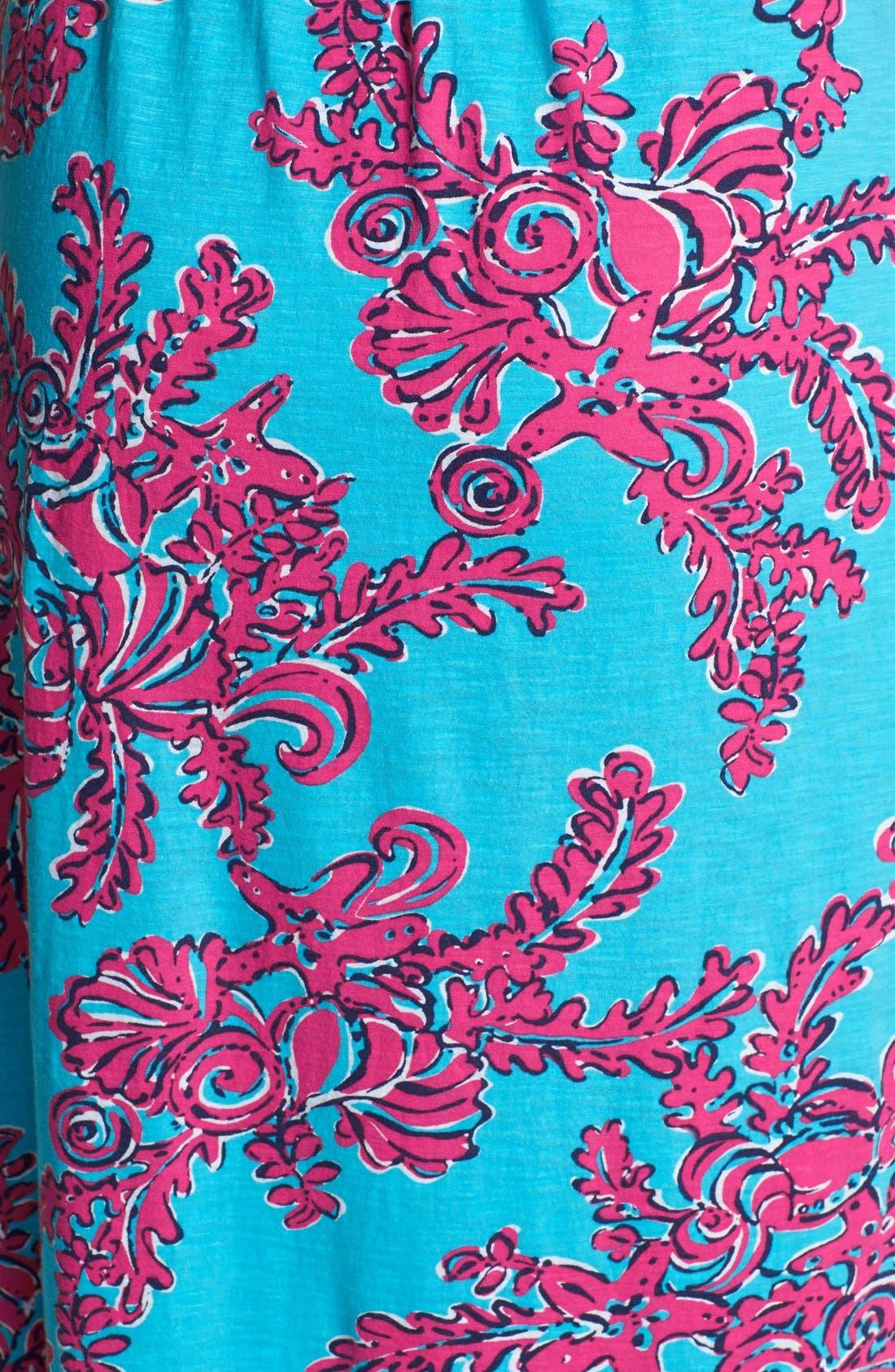 Alternate Image 3  - Lilly Pulitzer® Print Blouson Cotton Maxi Dress