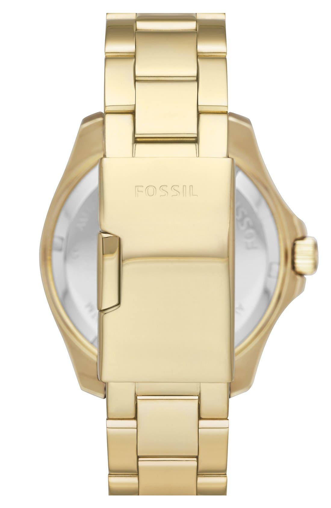 Alternate Image 2  - Fossil 'Cecile' Multifunction Bracelet Watch, 40mm