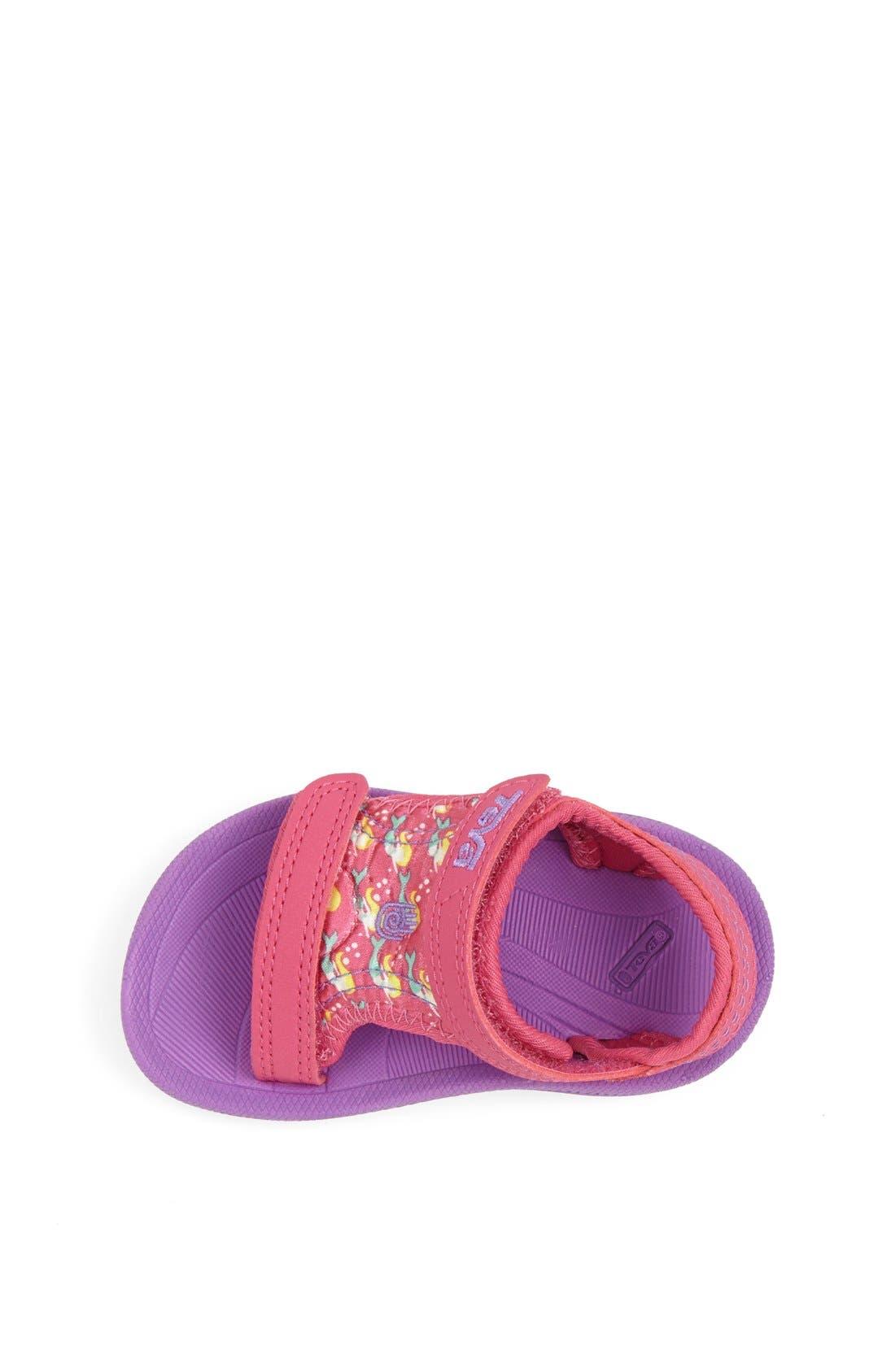 Alternate Image 3  - Teva 'Psyclone' Print Sandal (Baby, Walker & Toddler)