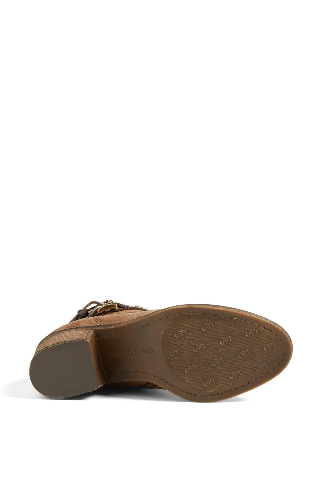 Alternate Image 4  - Franco Sarto 'Linden' Leather Bootie (Women) (Nordstrom Exclusive)