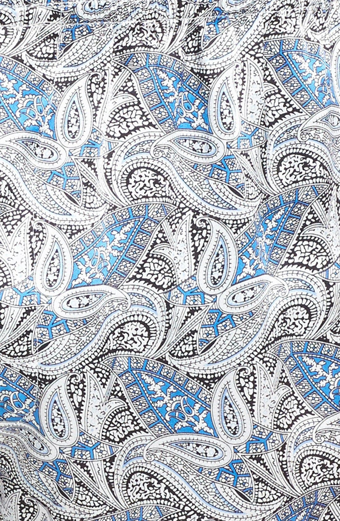 Cypress Silk Boxers,                             Alternate thumbnail 3, color,                             Sky Blue