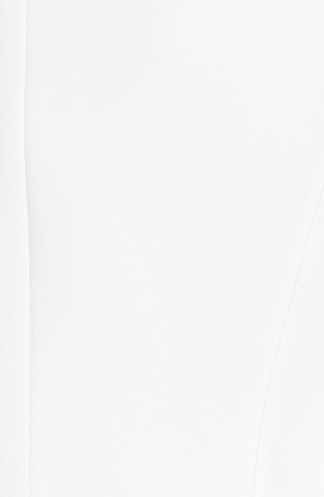 Alternate Image 3  - 1.STATE Crepe Collarless Moto Jacket