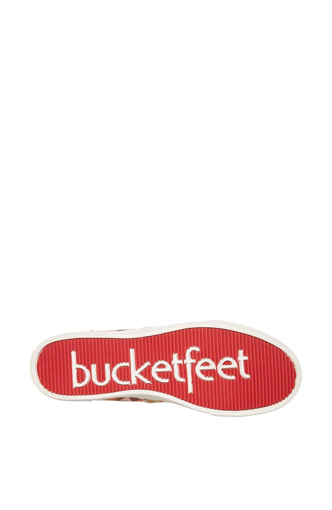 Alternate Image 4  - BucketFeet 'Delta' Canvas Sneaker (Women)