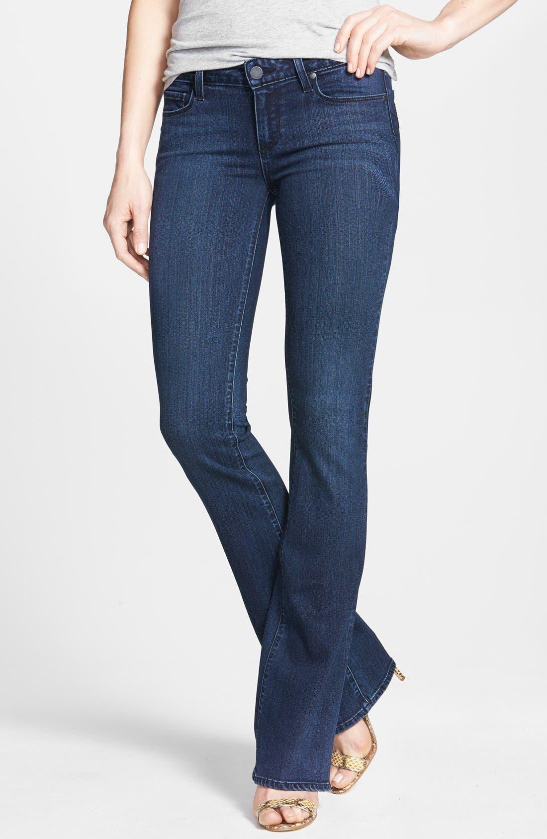 Main Image - PAIGE Transcend - Skyline Bootcut Jeans (Valor)