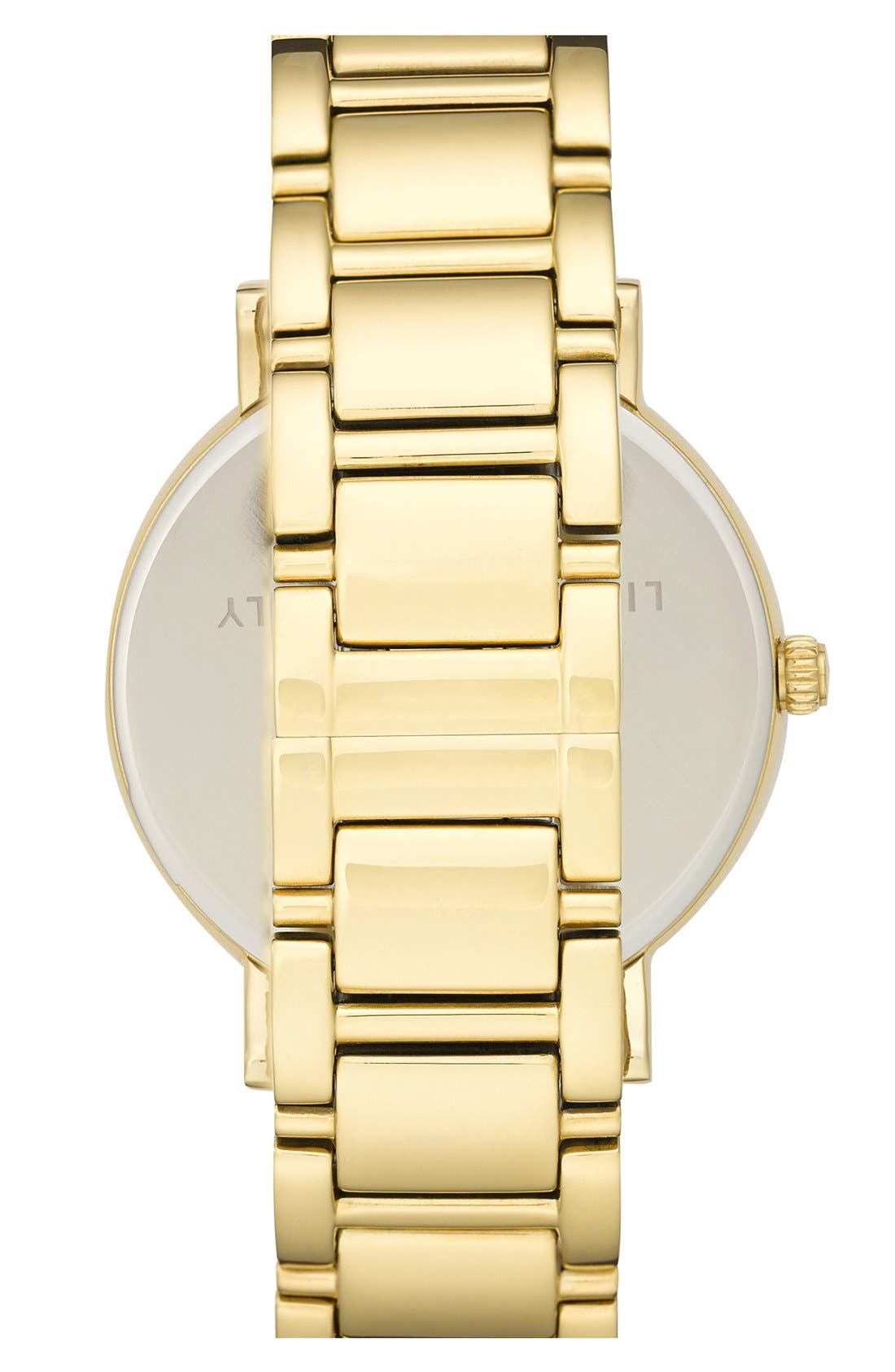 'gramercy grand' round bracelet watch, 38mm,                             Alternate thumbnail 2, color,                             Gold