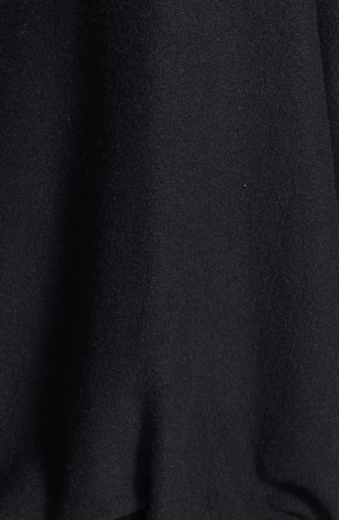 'Malibu' Pullover Hoodie,                             Alternate thumbnail 3, color,                             Jet Black