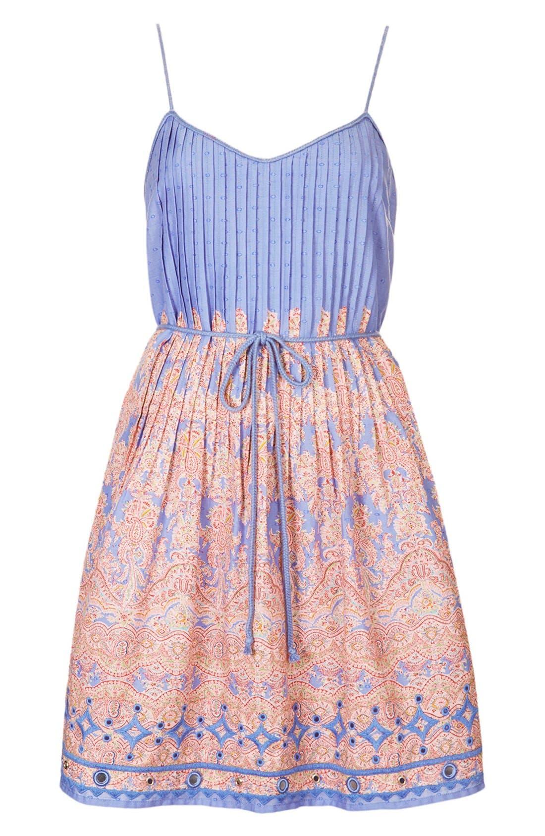 Alternate Image 3  - Kate Moss for Topshop Paisley Print Sundress