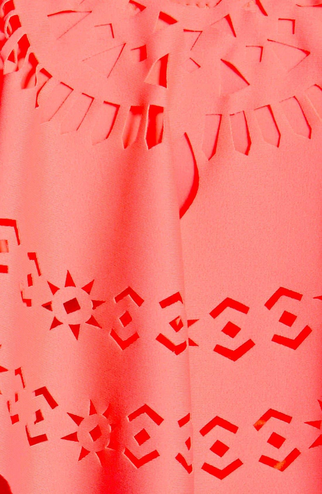 Alternate Image 5  - Jessica Simpson 'Seaglass' Flutter Bandeau Bikini Top