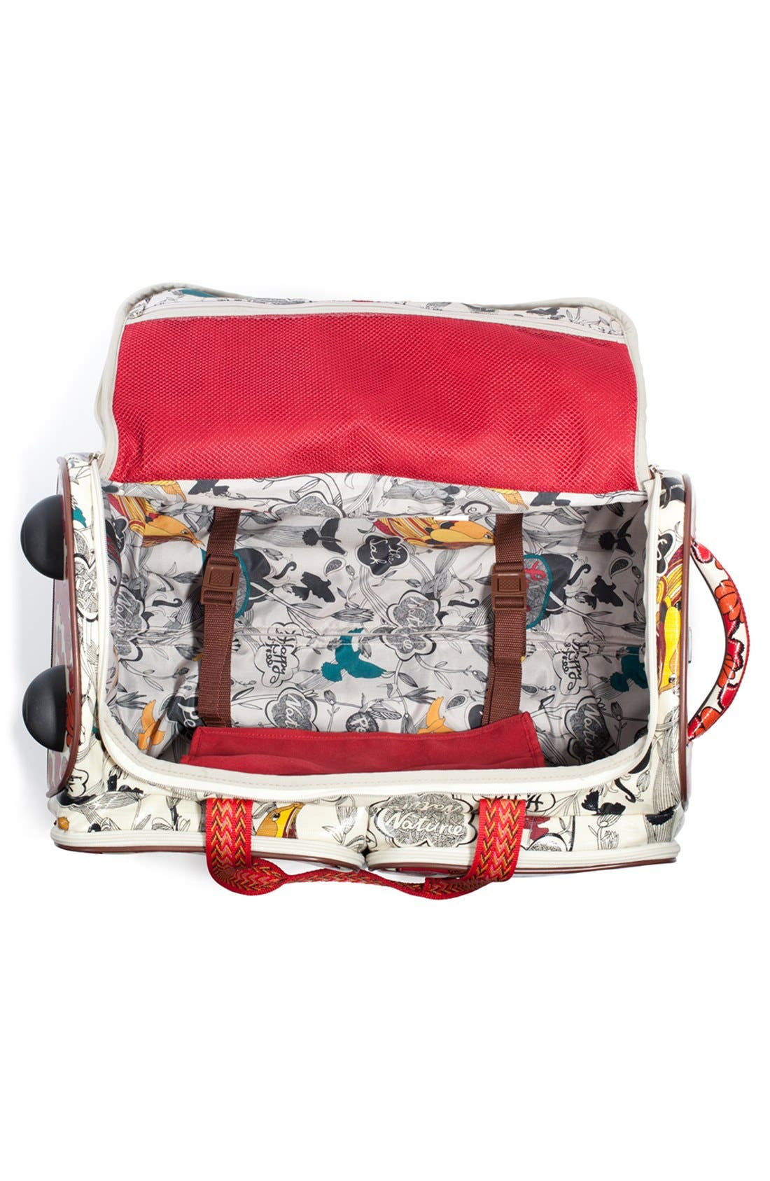 Alternate Image 2  - Sakroots 'Artist Circle' Rolling Carry-On Duffel Bag (23 Inch)