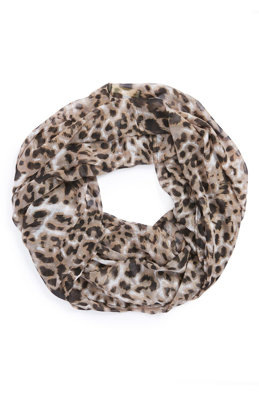 Alternate Image 1 Selected - Collection XIIX Leopard Print Infinity Scarf