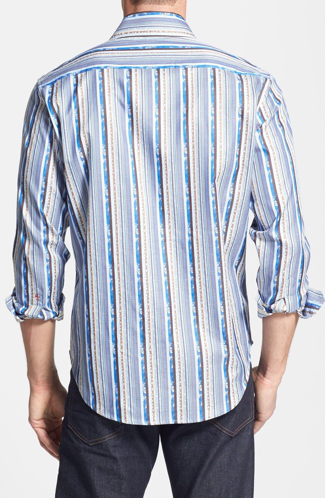Alternate Image 2  - Robert Graham 'Laurino' Jacquard Sport Shirt