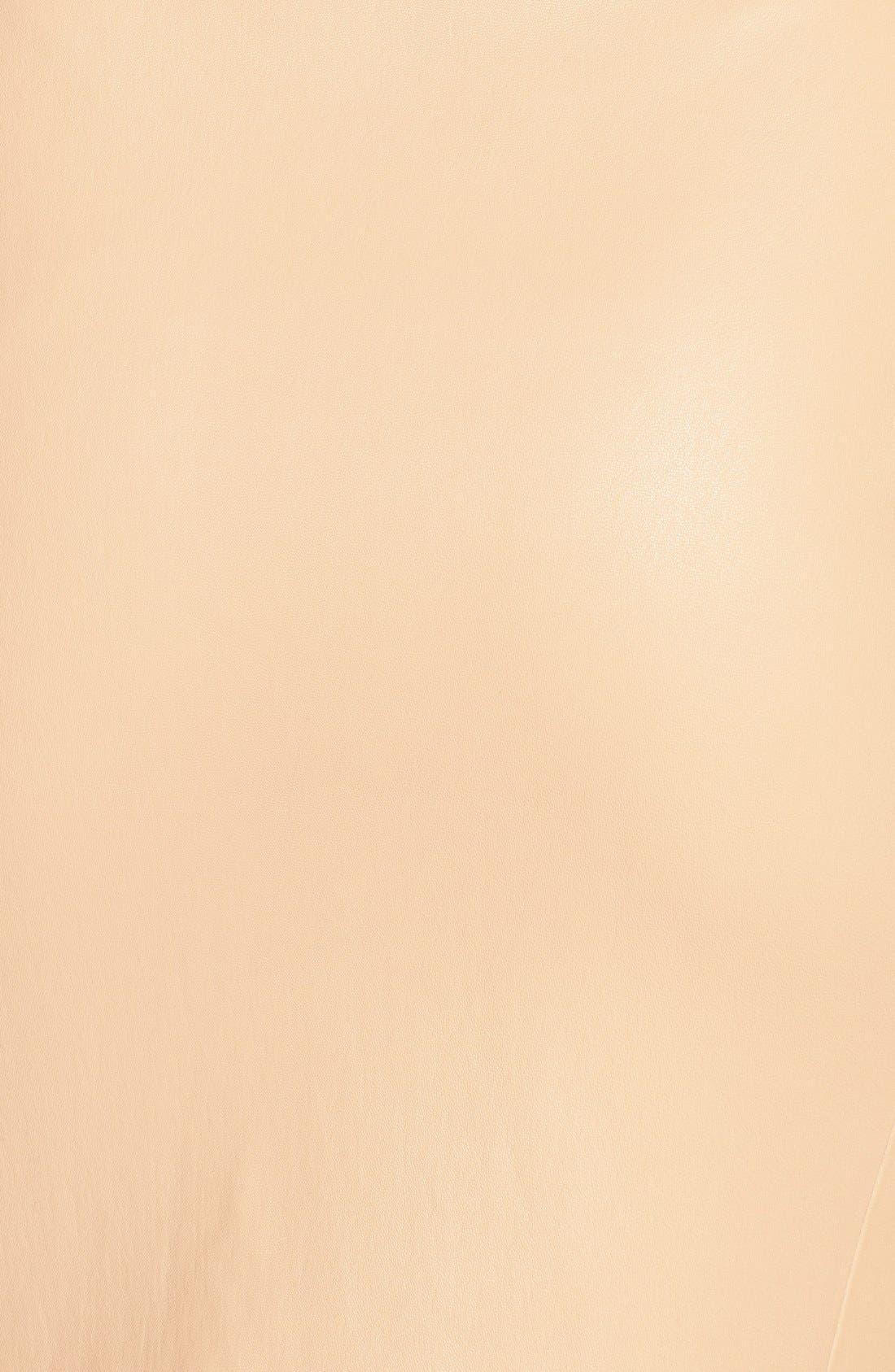Alternate Image 3  - Diane von Furstenberg 'Marta' Paneled Leather Skirt