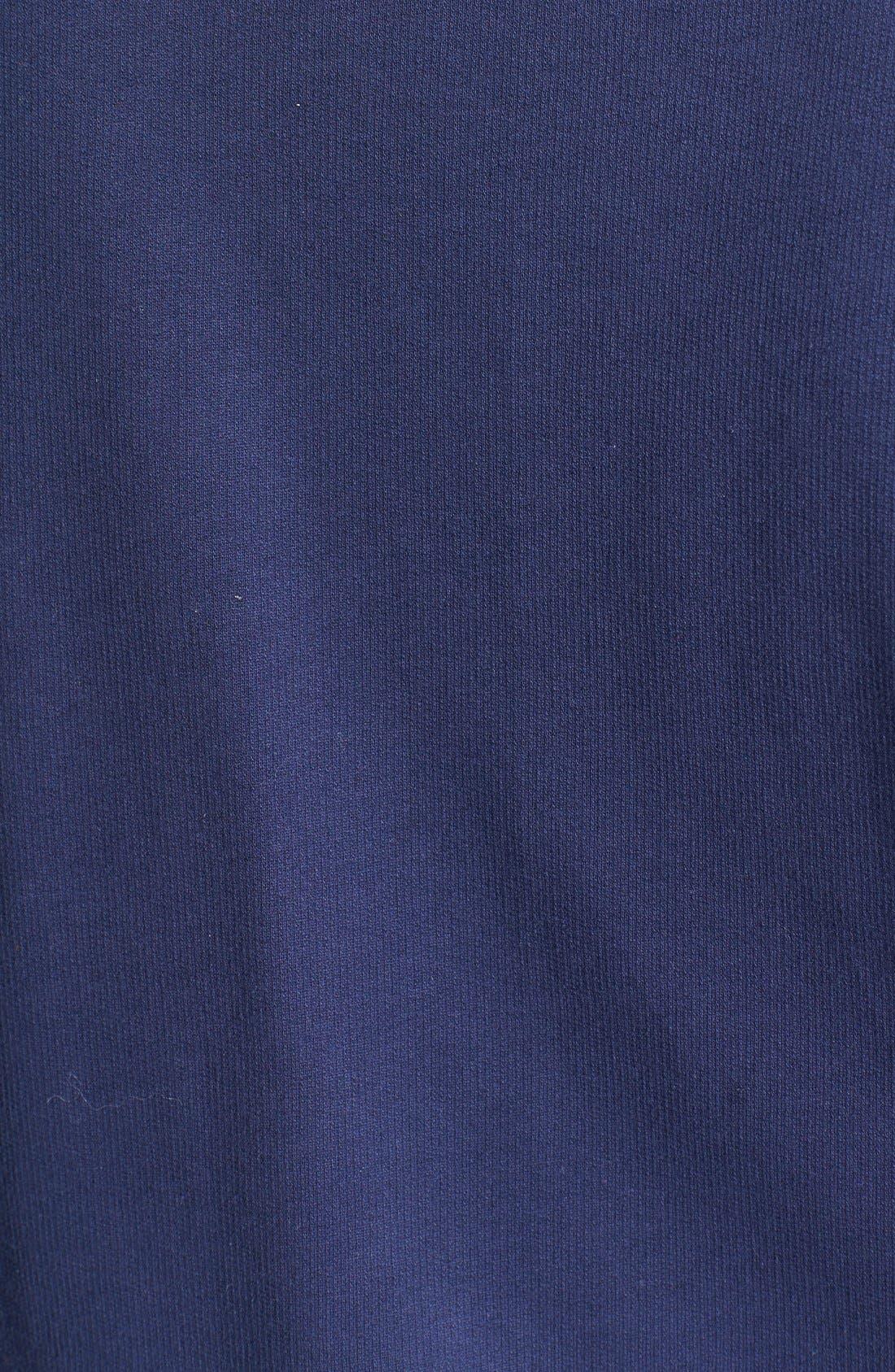 Alternate Image 3  - Caslon® Front Zip Terry Jacket (Plus Size)