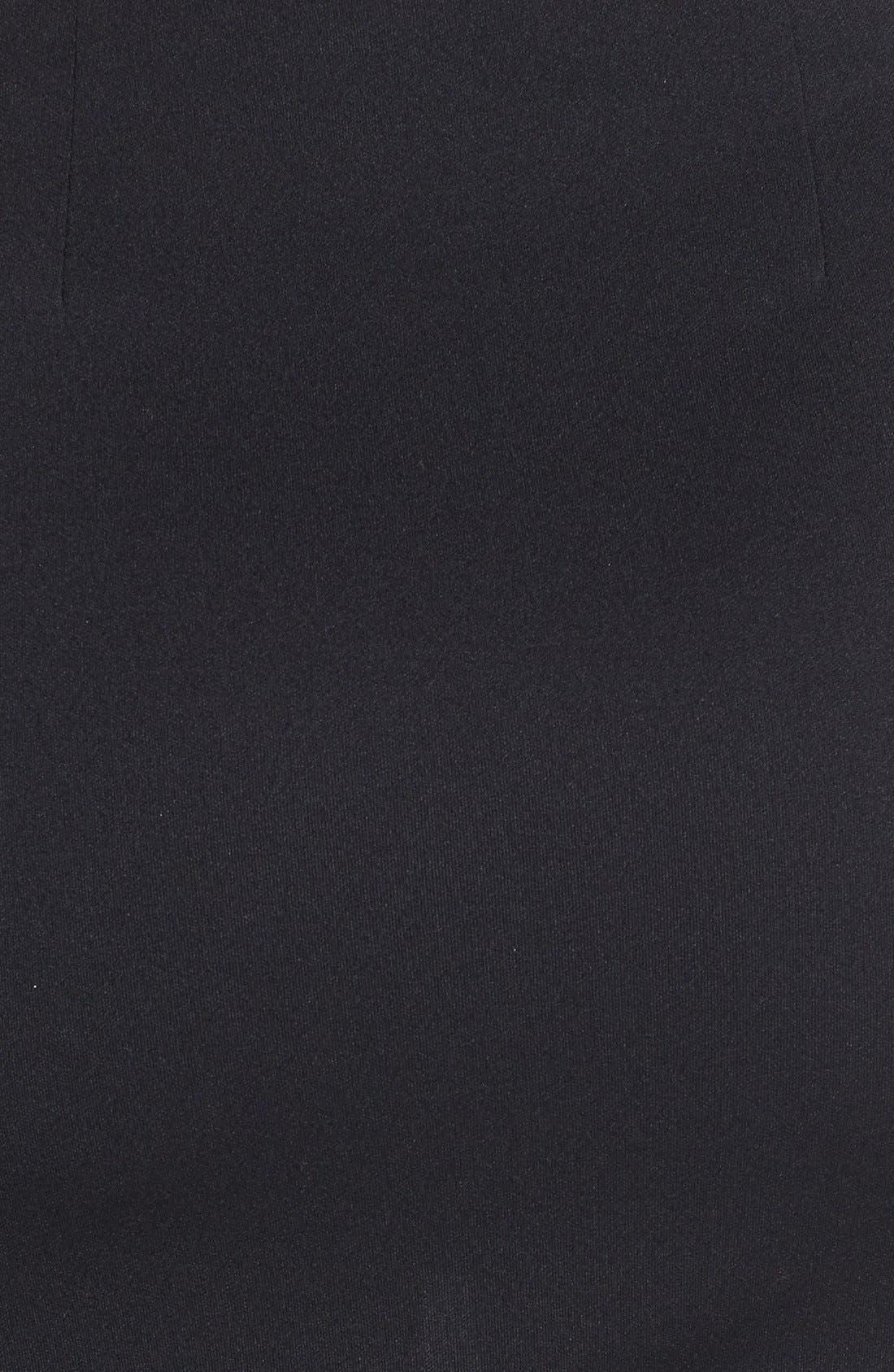 Alternate Image 4  - ASTR Fringed Faux Wrap Skirt