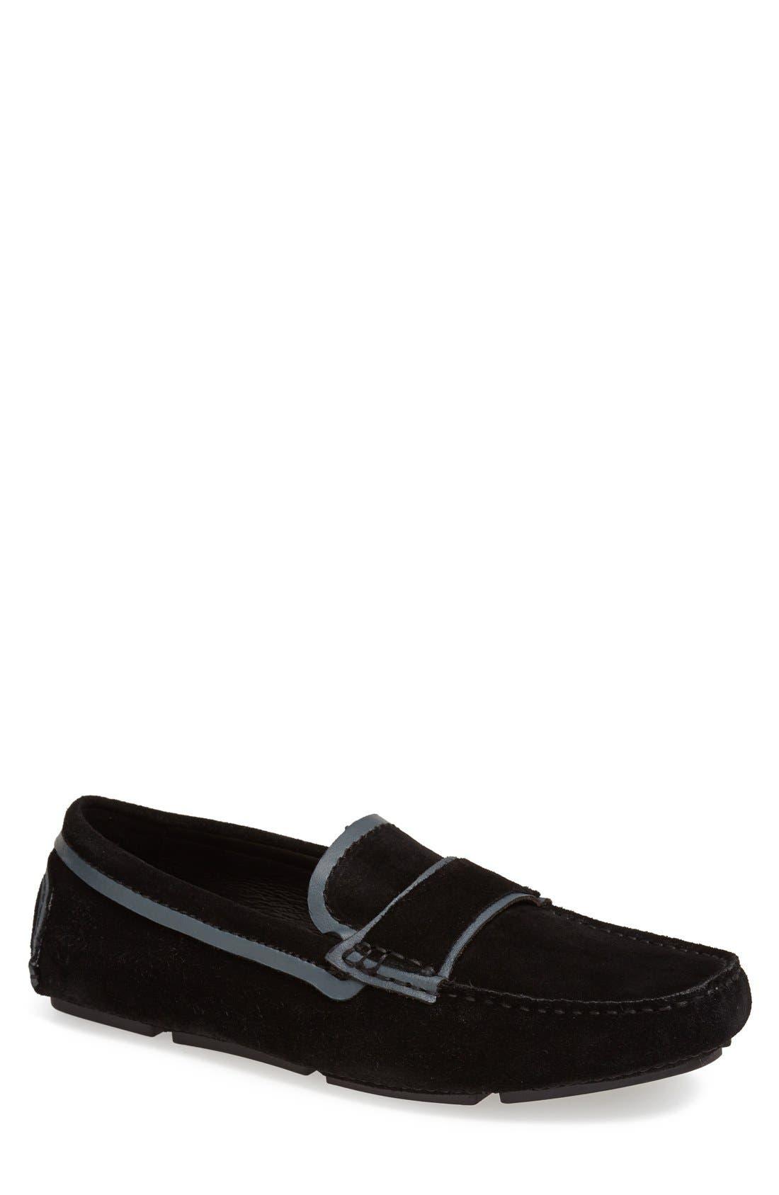 Alternate Image 1 Selected - Bugatchi 'Agam' Driving Shoe (Men)