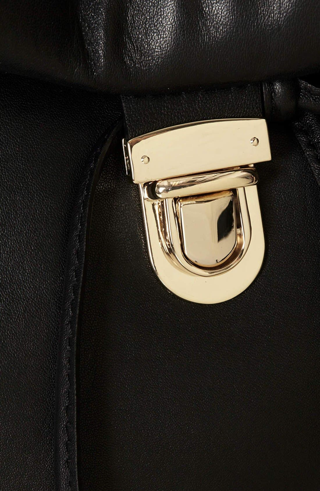 Alternate Image 3  - Topshop Leather Convertible Crossbody Bag