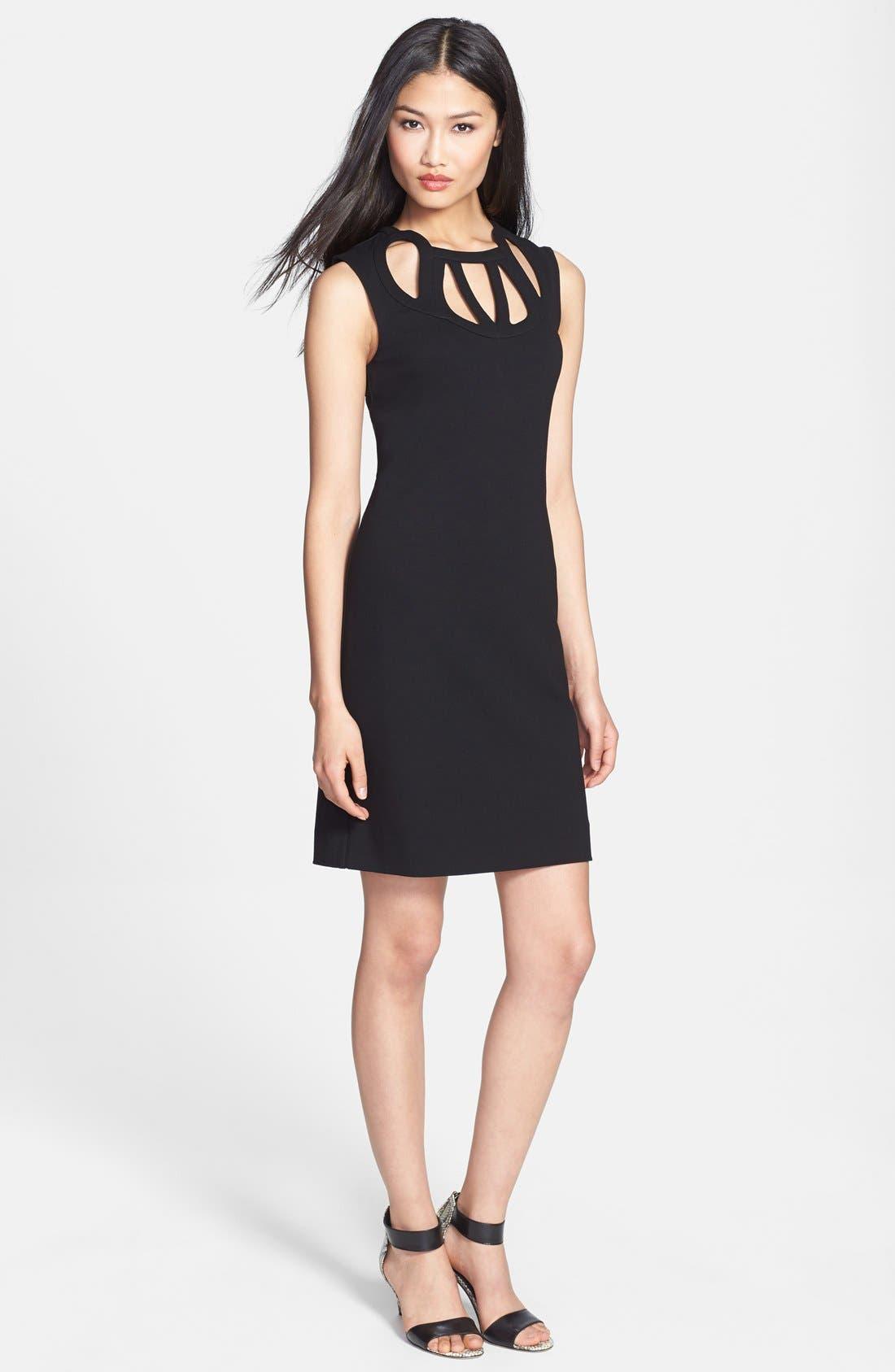 Main Image - Diane von Furstenberg 'Amy' Knit Sheath Dress