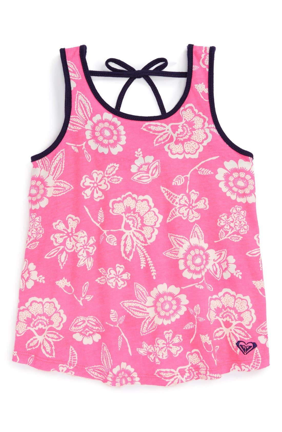 Alternate Image 1 Selected - Roxy 'Clear View' Sleeveless Top (Toddler Girls)