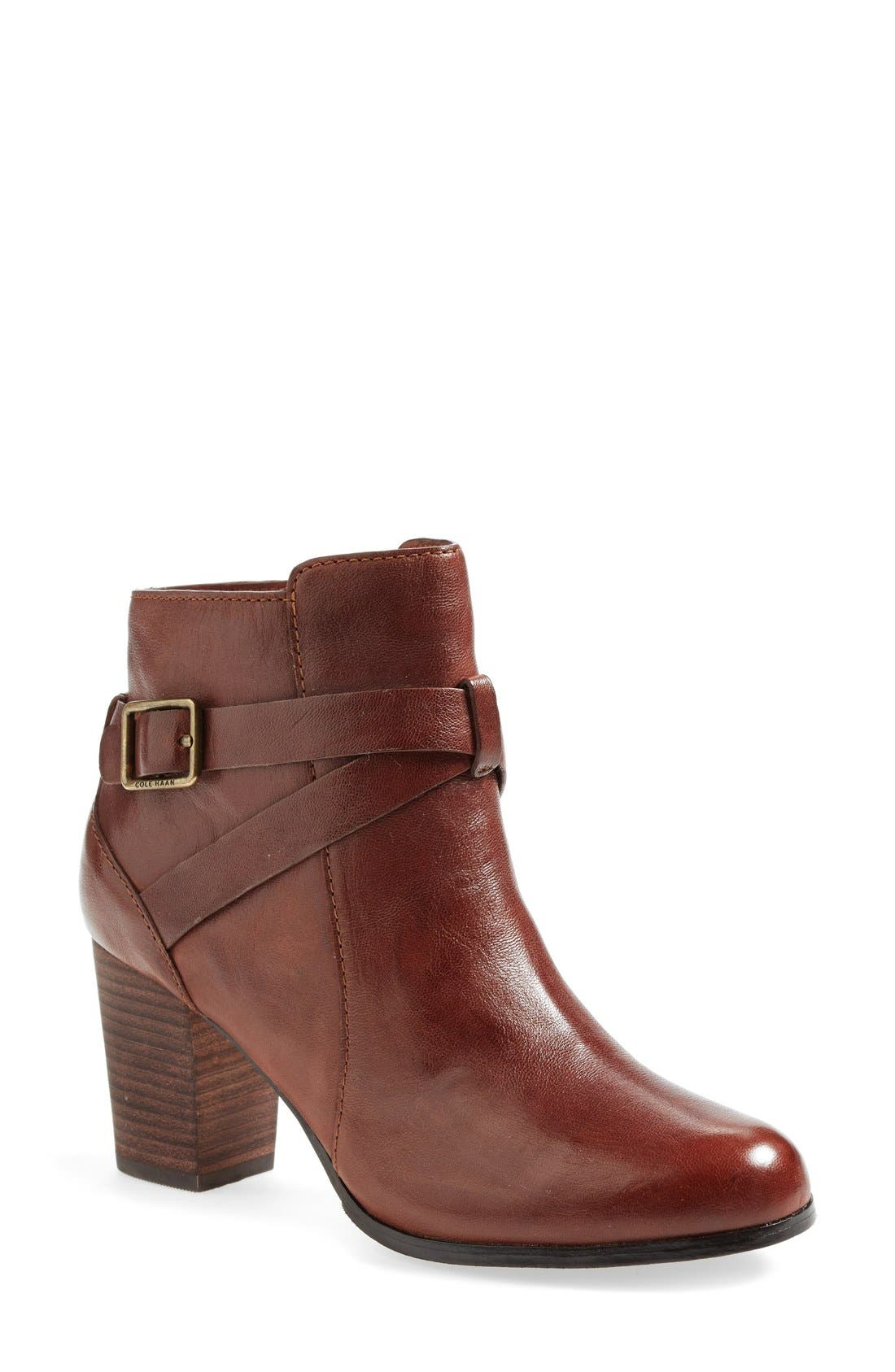 Alternate Image 1 Selected - Cole Haan 'Cassidy' Wraparound Strap Boot (Women)