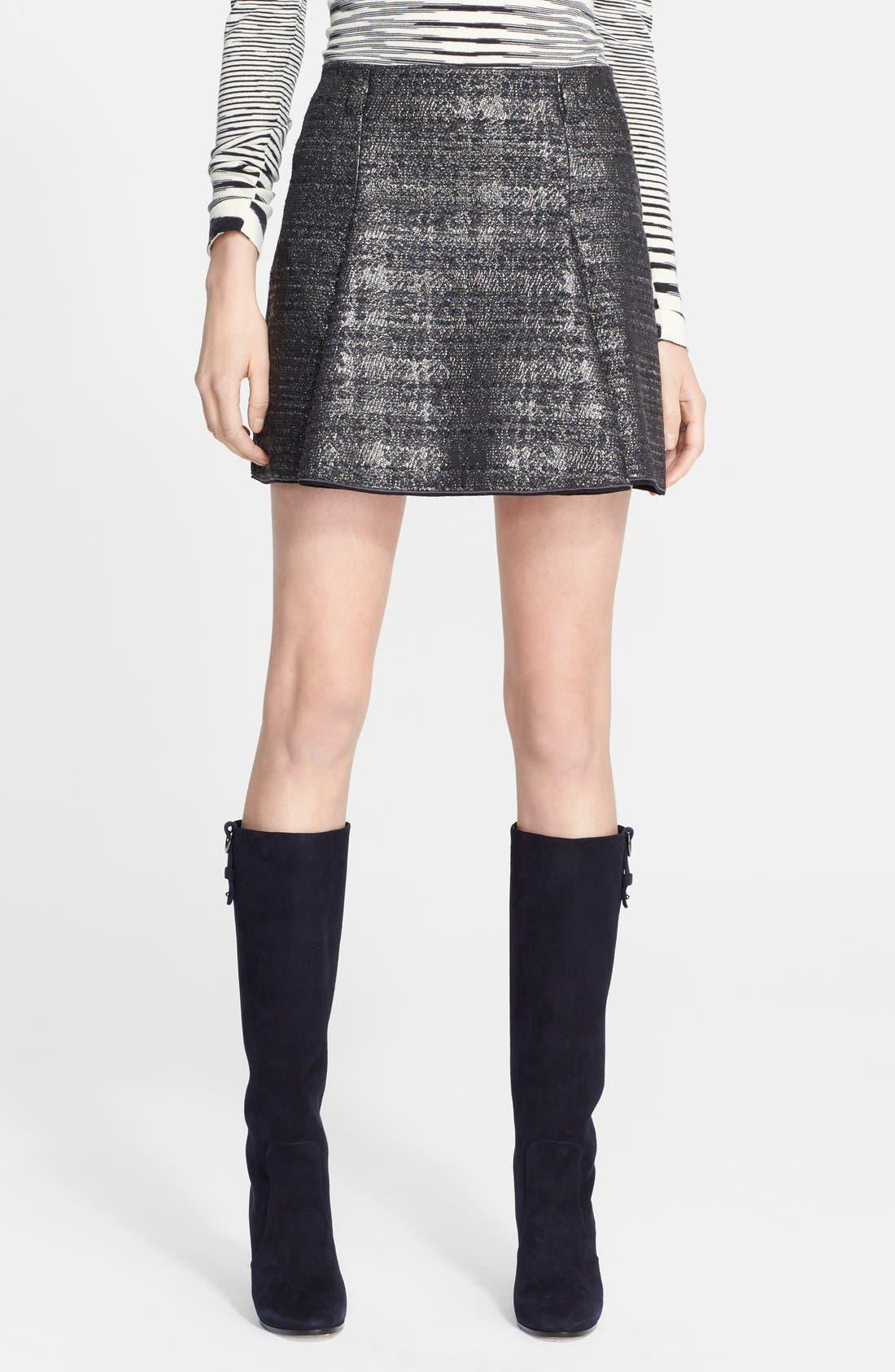 Alternate Image 1 Selected - Missoni Short Box Pleated Skirt