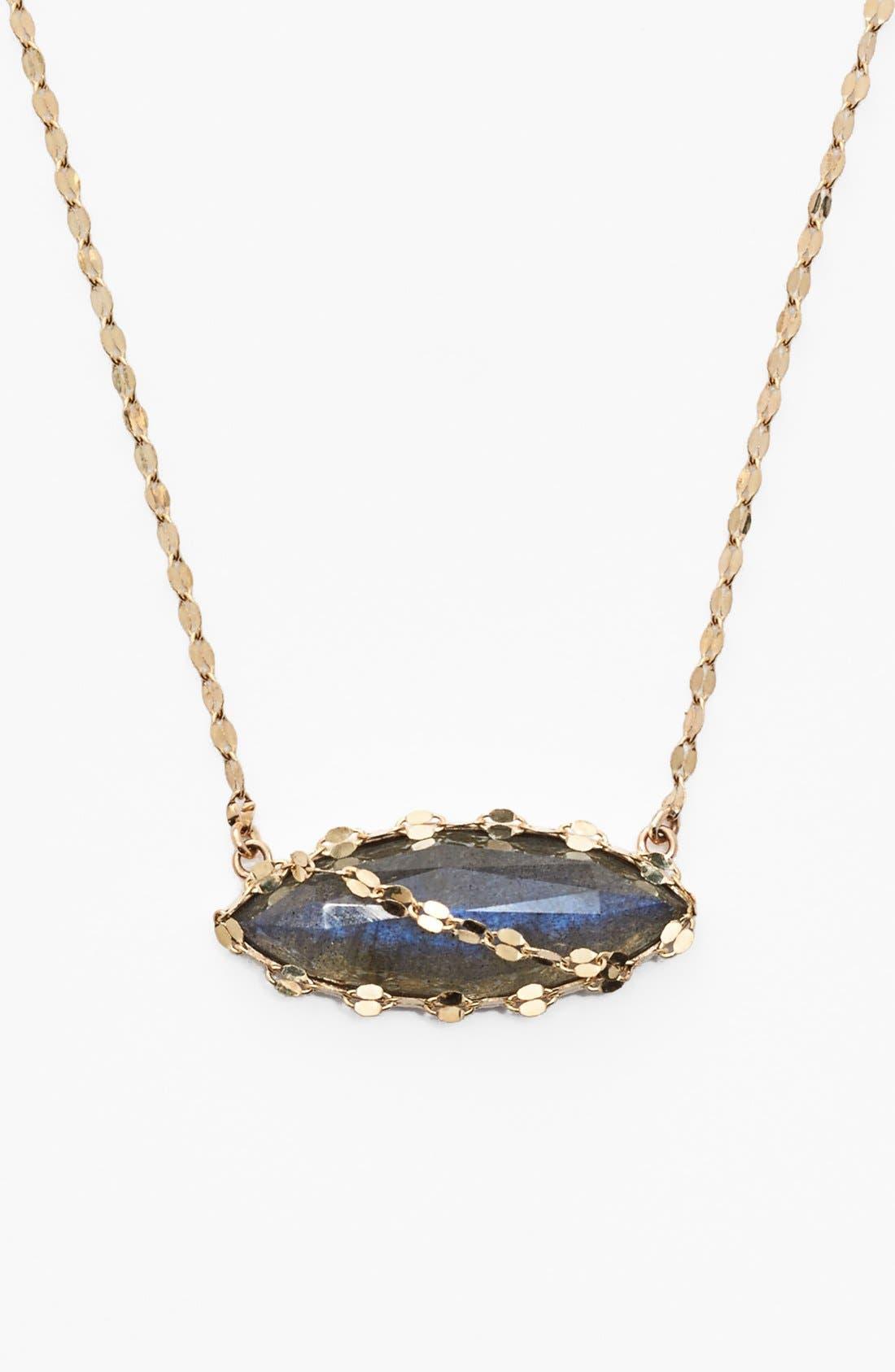 Main Image - Lana Jewelry 'Ultra' Labradorite Marquise Pendant Necklace