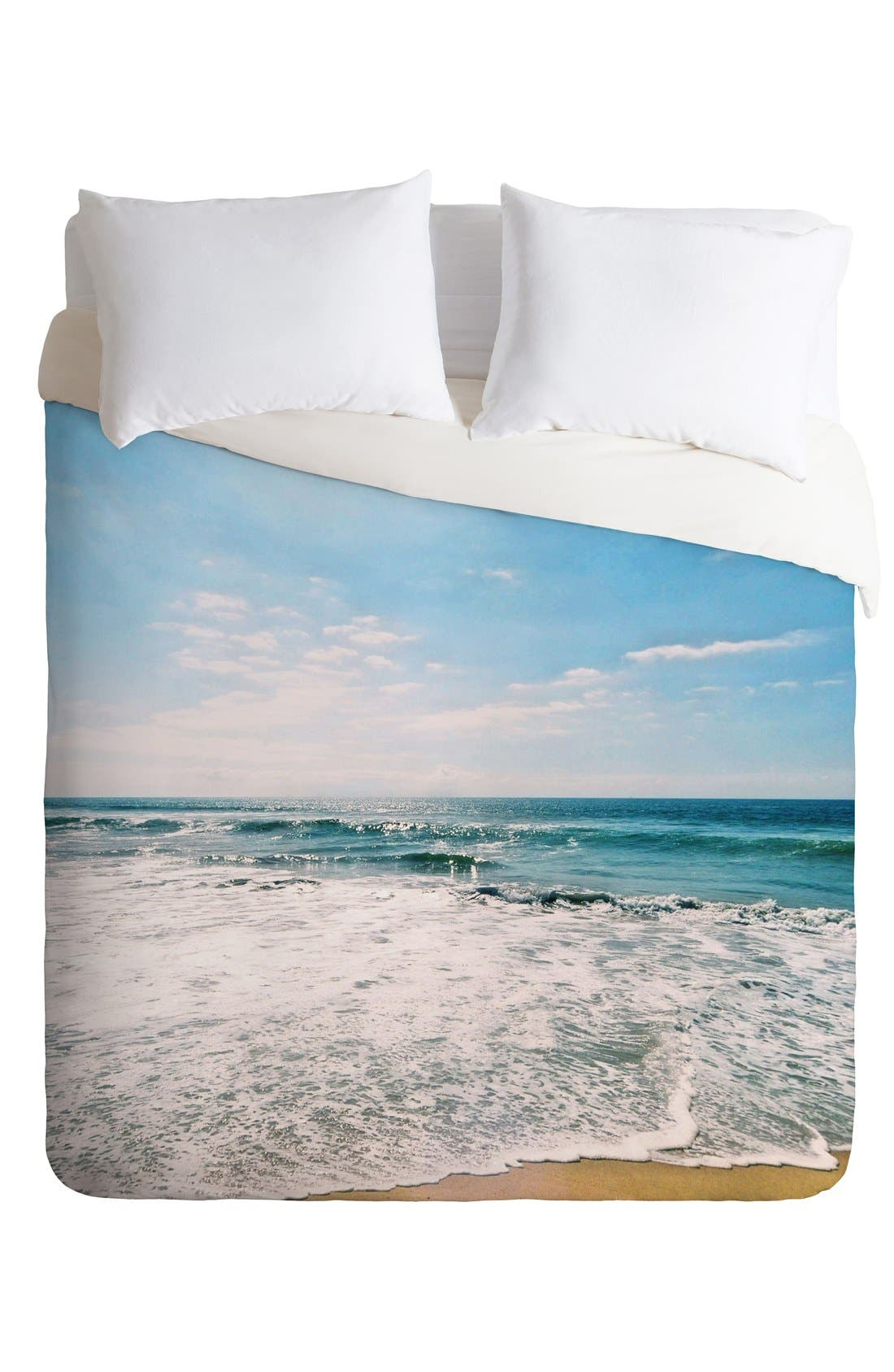 Alternate Image 2  - Deny Designs Take Me There Duvet Cover & Sham Set