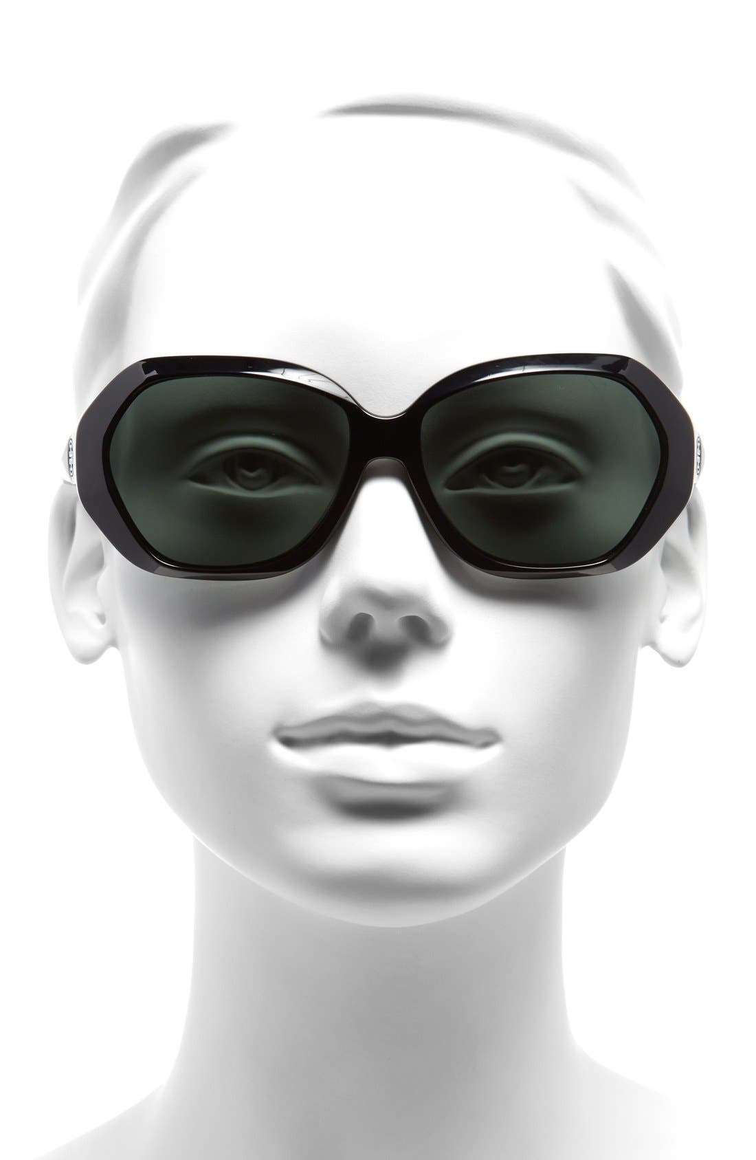 Alternate Image 2  - Tory Burch 57mm Sunglasses