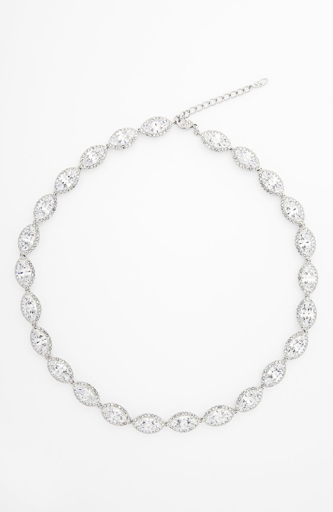 Alternate Image 1 Selected - Nadri 'Marquise' Cubic Zirconia Necklace