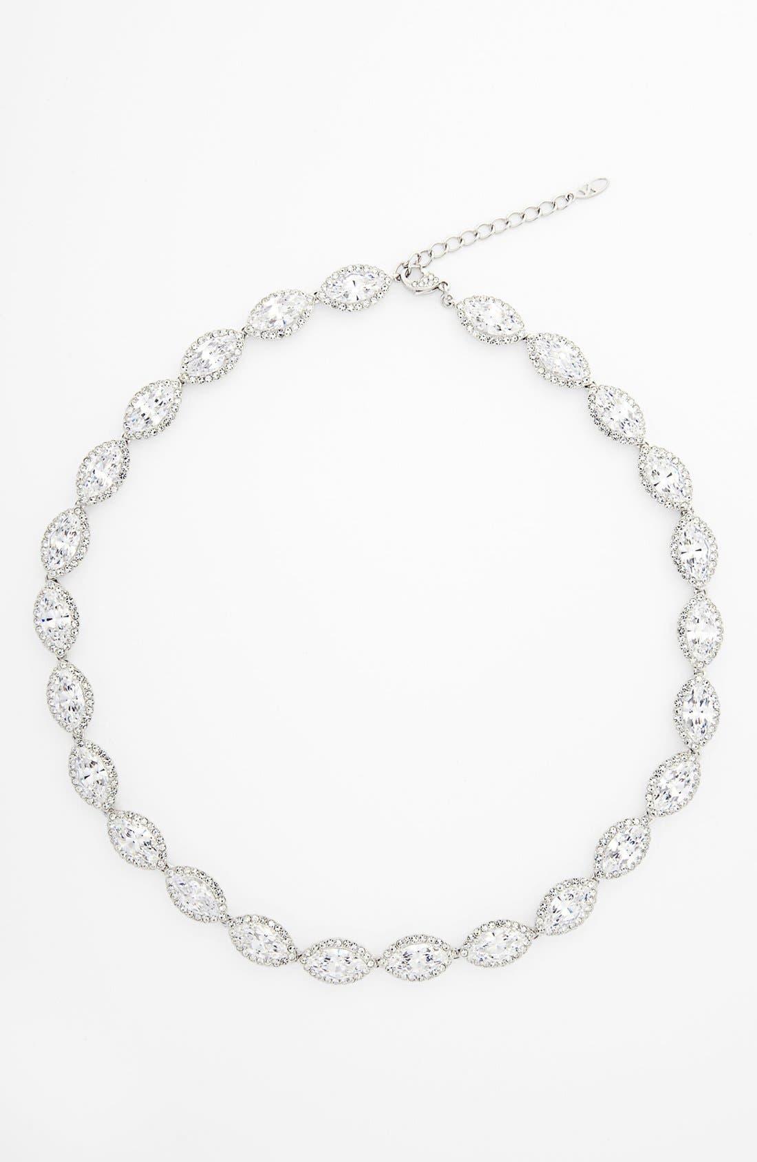 Main Image - Nadri 'Marquise' Cubic Zirconia Necklace