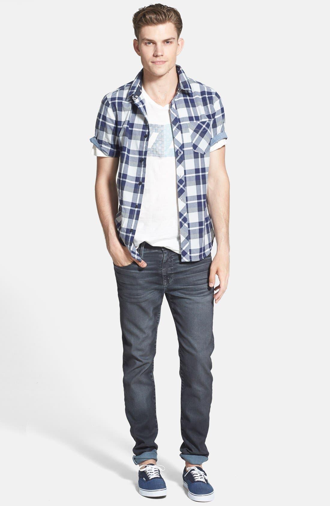 Alternate Image 5  - Joe's 'Brixton' Slim Fit Jeans (Steel)