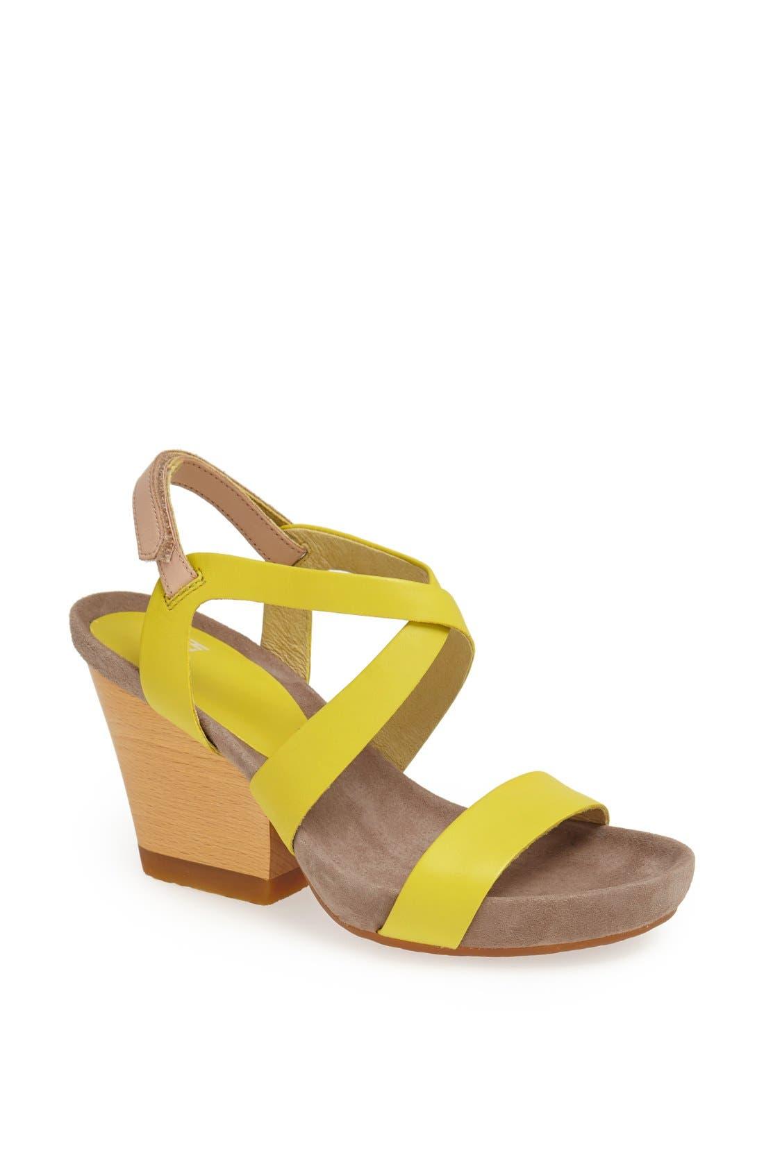 Alternate Image 1 Selected - Camper 'Allegra' Block Heel Sandal