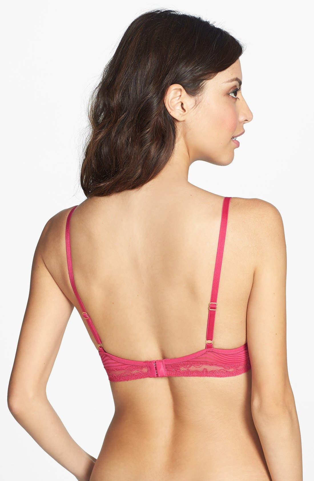 Alternate Image 2  - Natori 'Mod' Low Cut Underwire Push-Up Bra