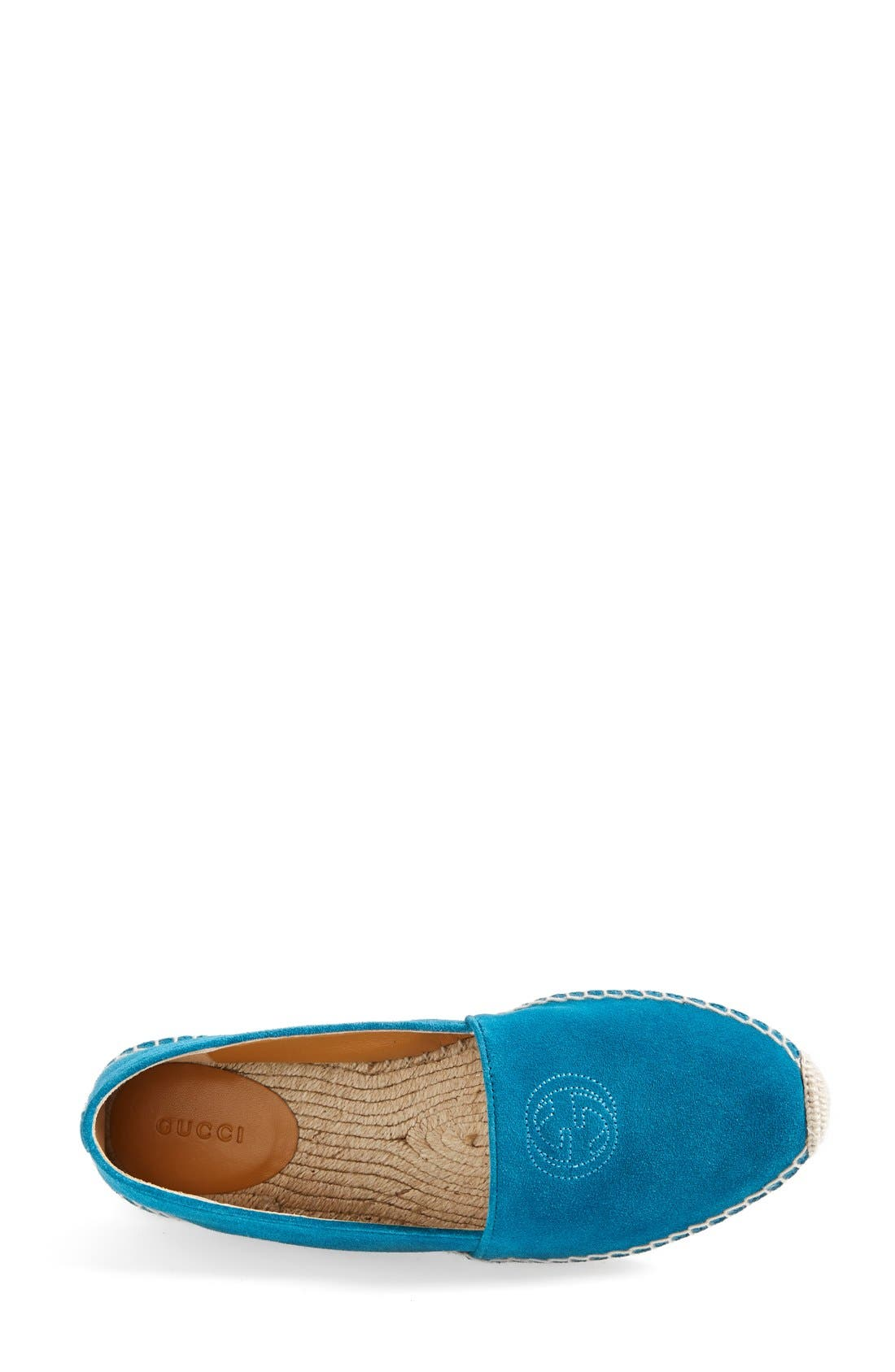 Alternate Image 3  - Gucci 'Pilar' Espadrille Flat (Women)