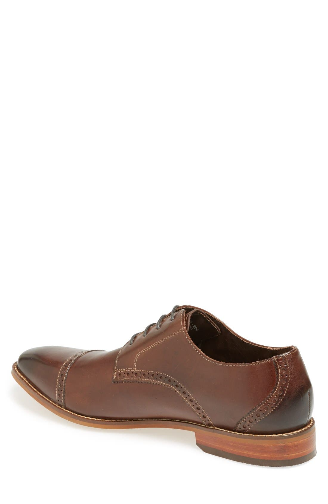 Alternate Image 2  - Florsheim 'Castellano' Cap Toe Derby (Men)