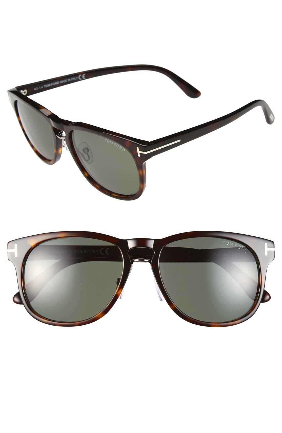 Alternate Image 1 Selected - Tom Ford 'Franklin' 55mm Sunglasses