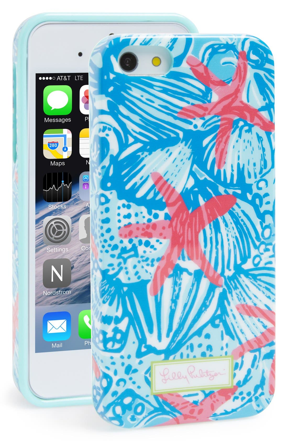 Alternate Image 1 Selected - Lilly Pulitzer® iPhone 5 & 5s Case