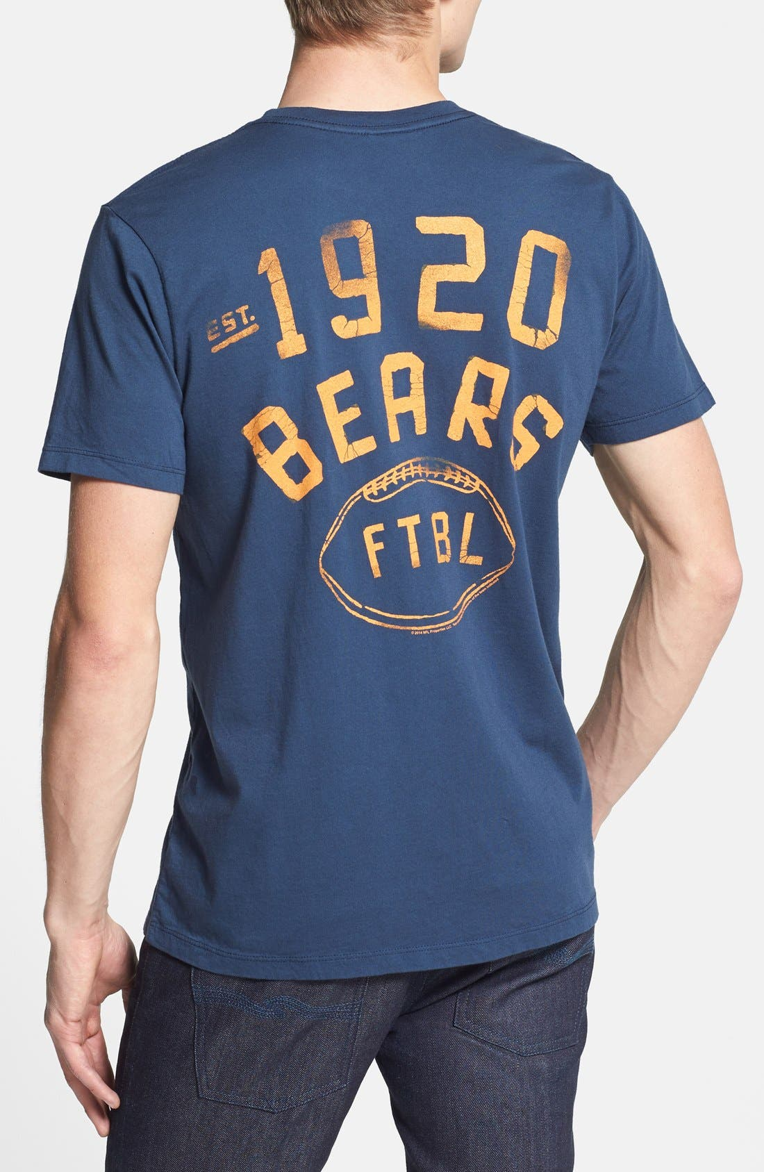 Alternate Image 2  - Junk Food 'Chicago Bears' Graphic T-Shirt