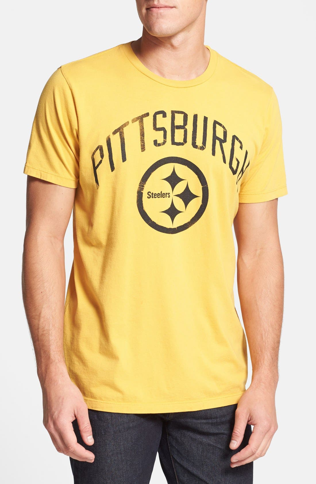 Alternate Image 1 Selected - Junk Food 'Pittsburgh Steelers' Graphic T-Shirt