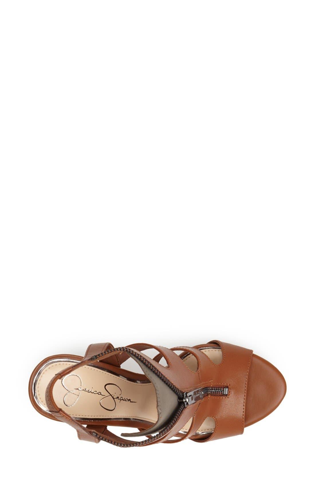 Alternate Image 3  - Jessica Simpson 'Carmyne' Leather Sandal (Women)