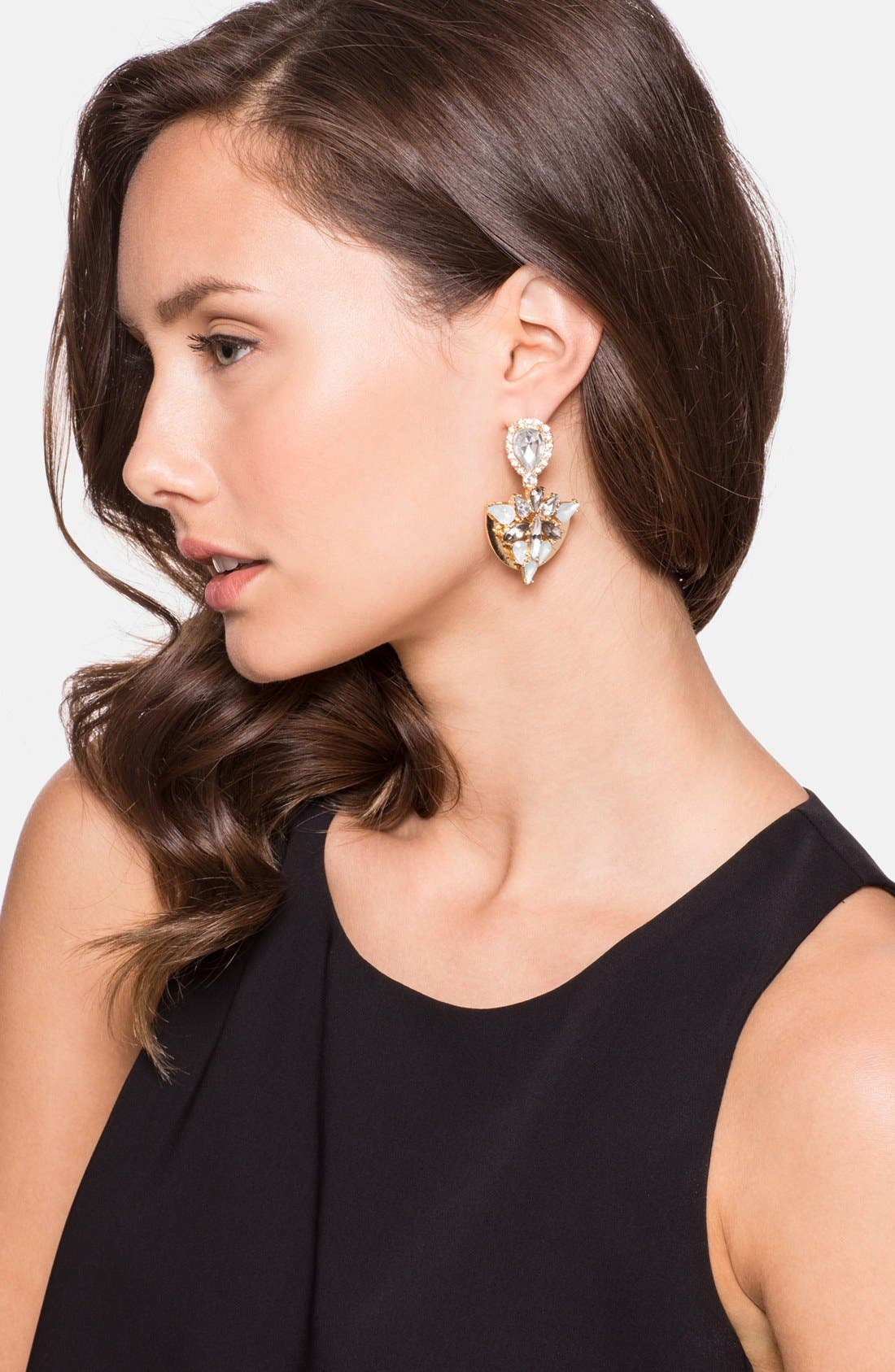Alternate Image 2  - BaubleBar Cluster Drop Earrings