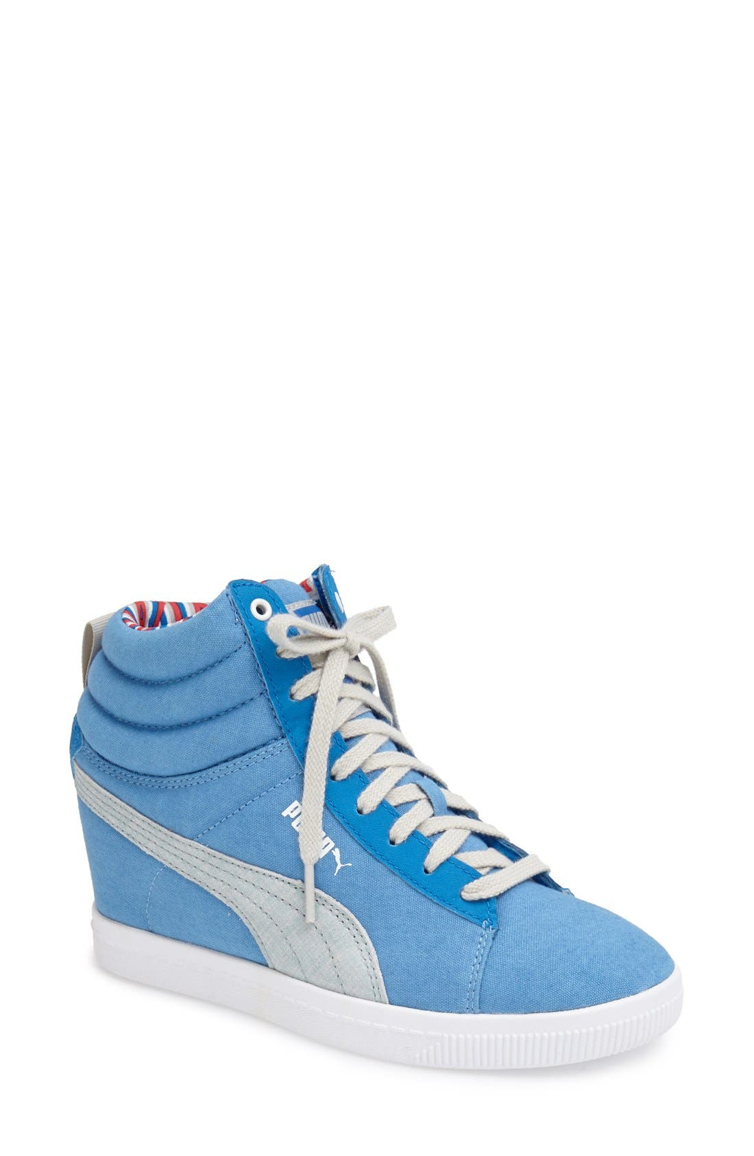 Alternate Image 1 Selected - PUMA 'Classic' Hidden Wedge Sneaker (Women)