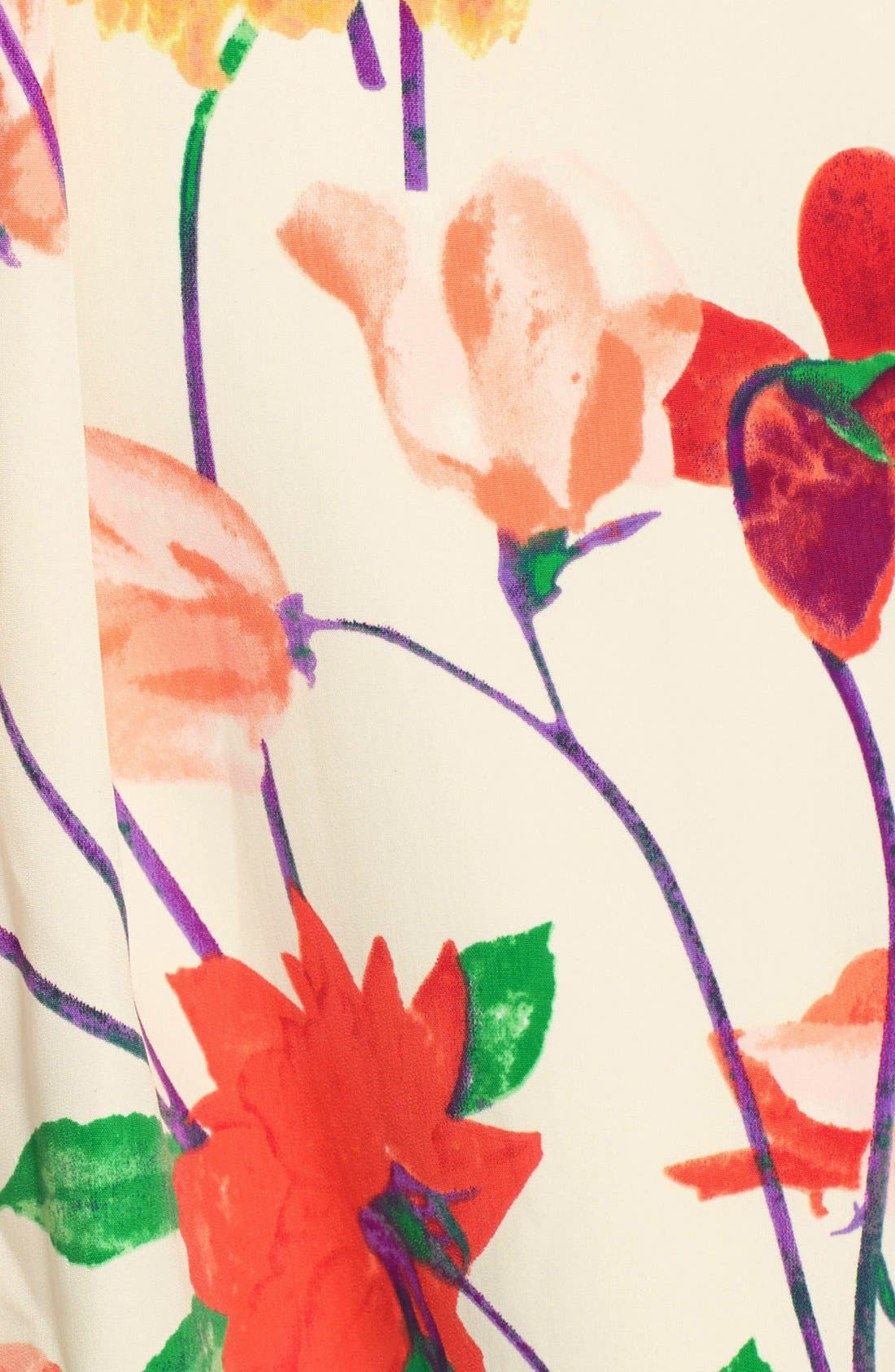 Alternate Image 4  - BB Dakota 'Basha' Floral Print Fit & Flare Dress