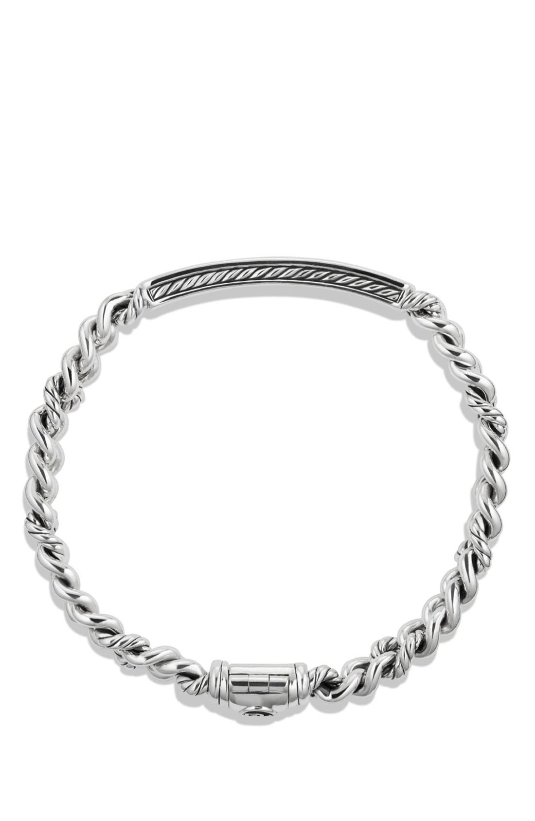 Alternate Image 2  - David Yurman 'Petite Pavé' Love ID Bracelet with Diamonds