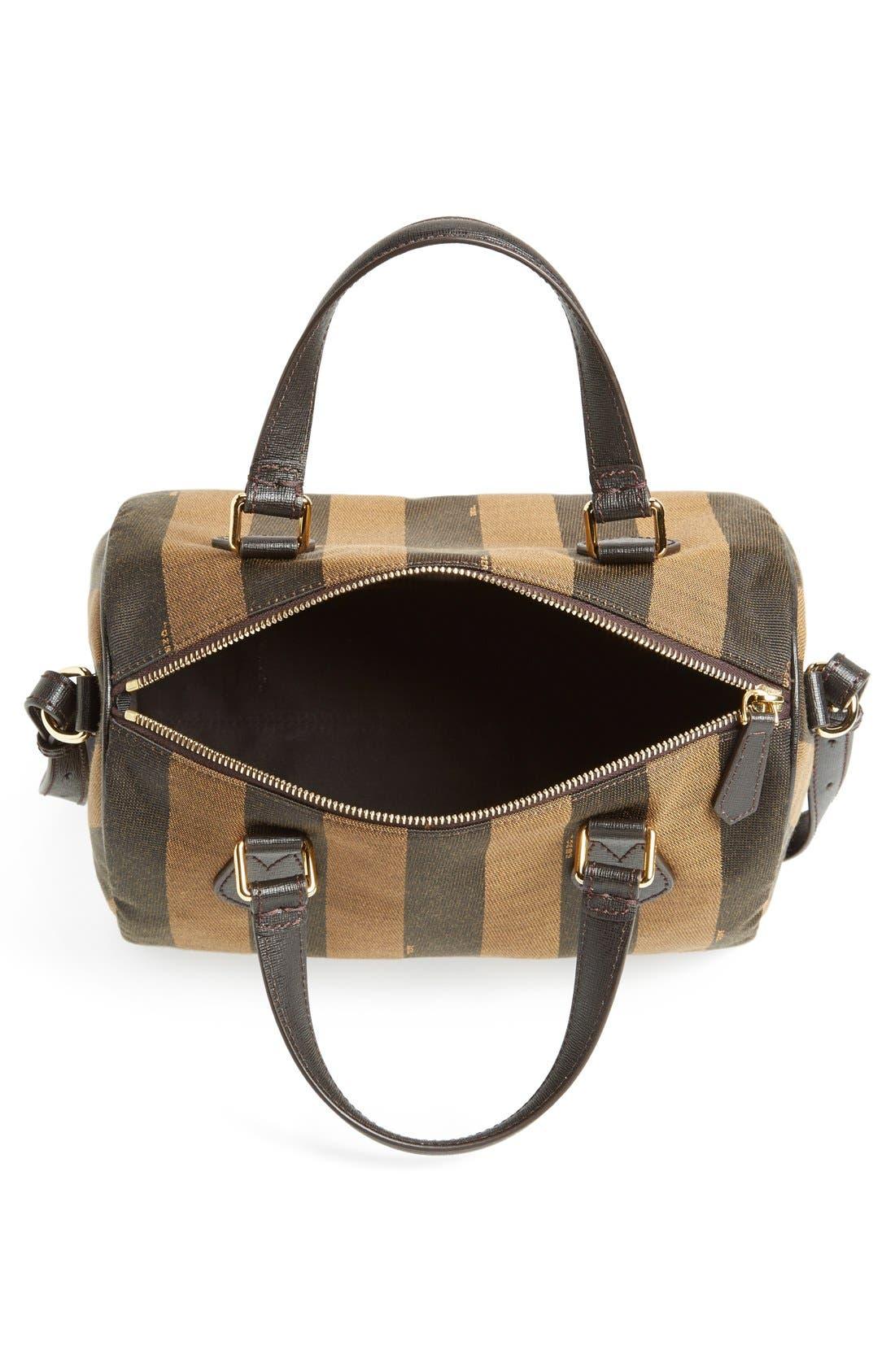 Alternate Image 3  - Fendi 'Small Pequin' Logo Jacquard Shoulder Bag