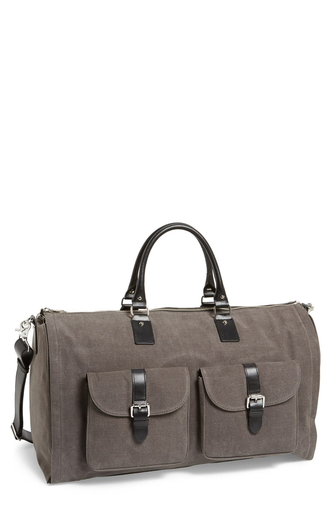 HOOK + ALBERT Canvas Garment/Duffel Bag
