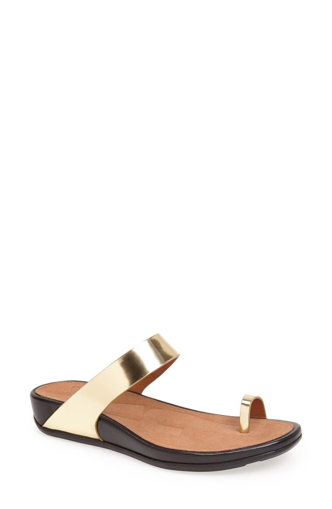 Main Image - FitFlop™ 'De Loop' Slide Sandal (Women) (Nordstrom Exclusive)