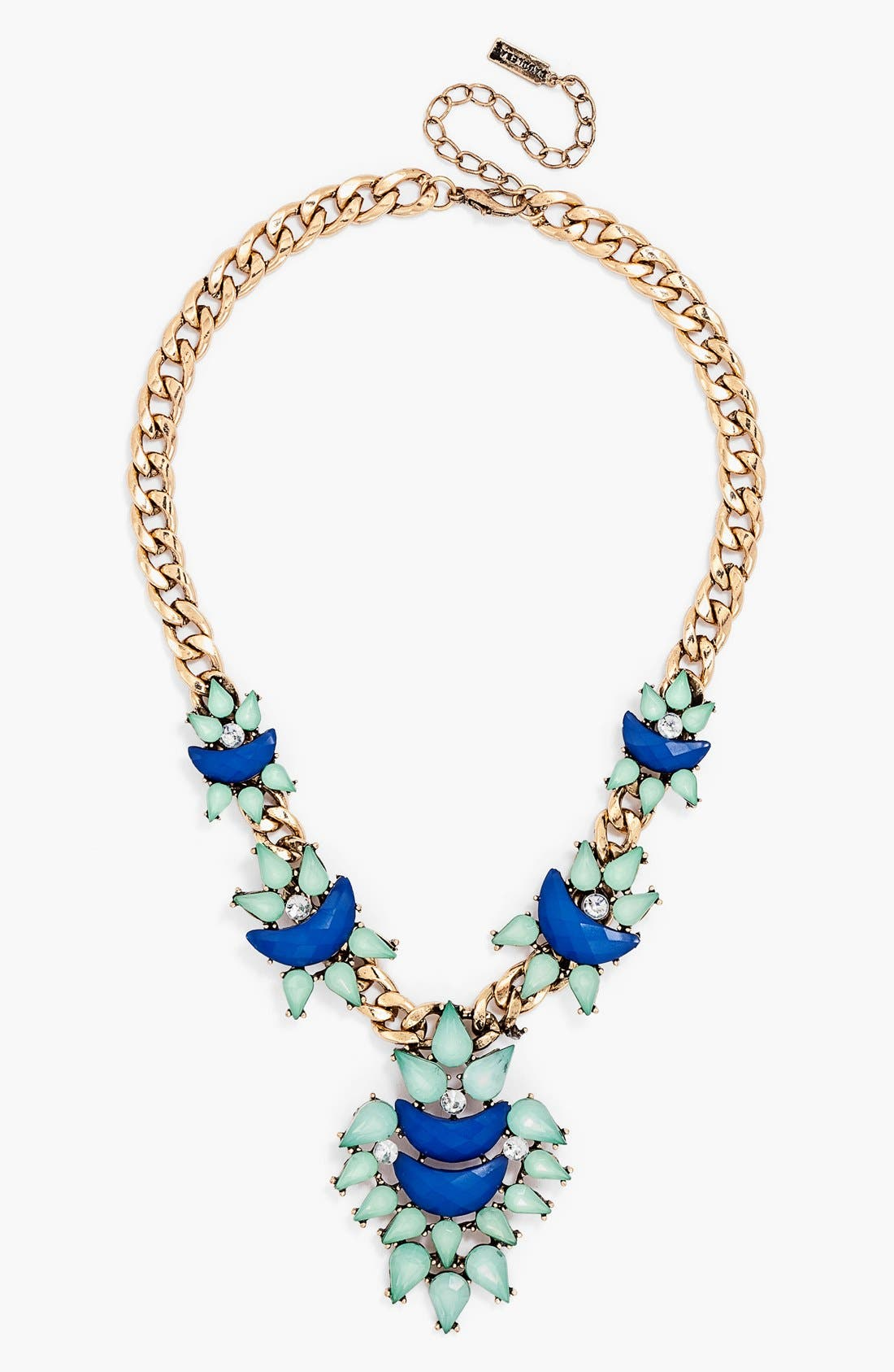Main Image - BaubleBar 'Dayglo Crescent' Frontal Necklace