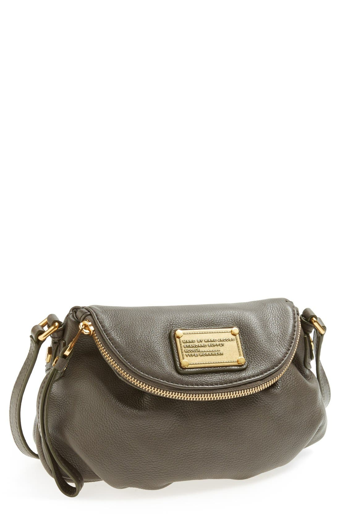 Main Image - MARC BY MARC JACOBS 'Classic Q Natasha - Mini' Crossbody Flap Bag